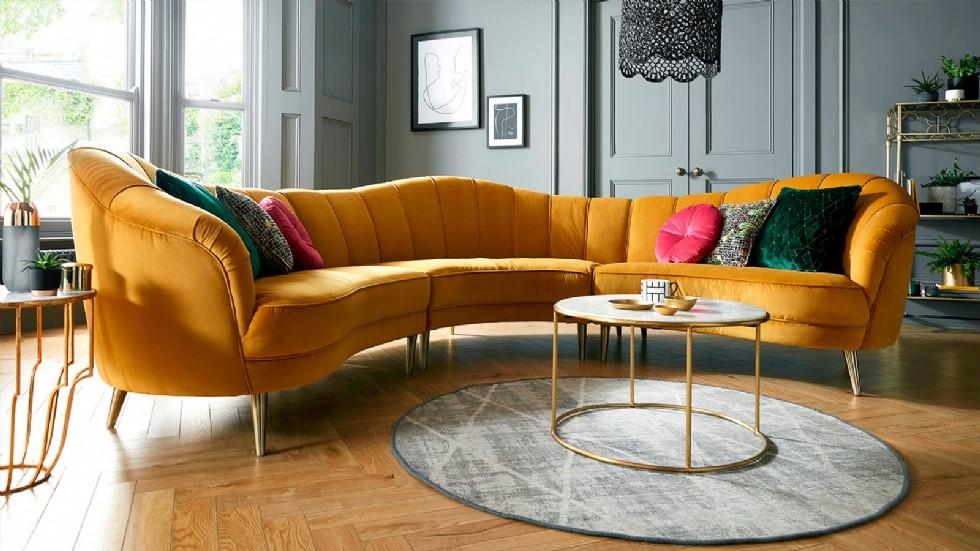 Luxury Modern Salon Köşe Koltuk Tasarımları