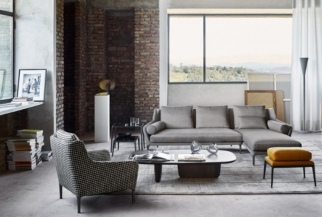 Modern Oturma Odası Tasarımı Köşe Koltuk Takımı Berjer Koltuk