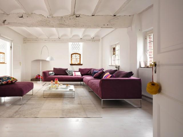 Sabit Minderli Rahat Modern Köşe Koltuk Takımı Salon Oturma Odası