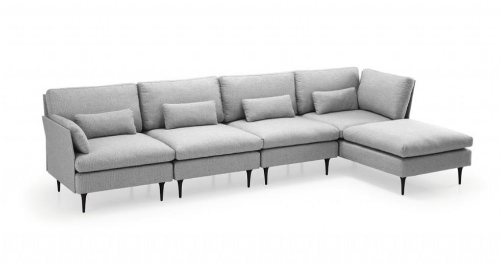 Kodu: 8103 - Modern Luxury L Tasarım Köşe Koltuk Modeli
