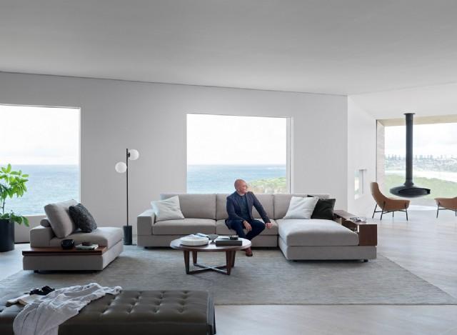 Amerikan Modern Salon Tasarımı Köşe Koltuk Takımı