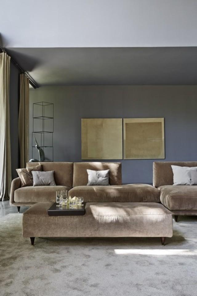 Luxury Küçük Ölçü L Köşe Koltuk Takımı