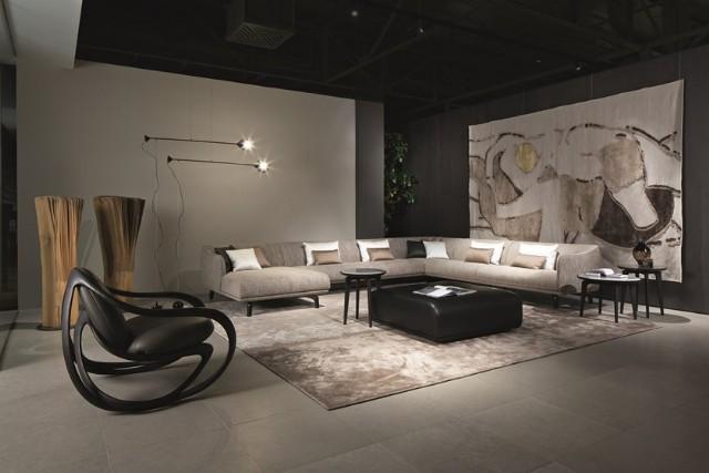 Luxury Modern Köşe Koltuk Takımı Salon Köşe Takımı