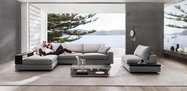 Modern Salon Tasarımı Lüx Köşe Koltuk Takımı