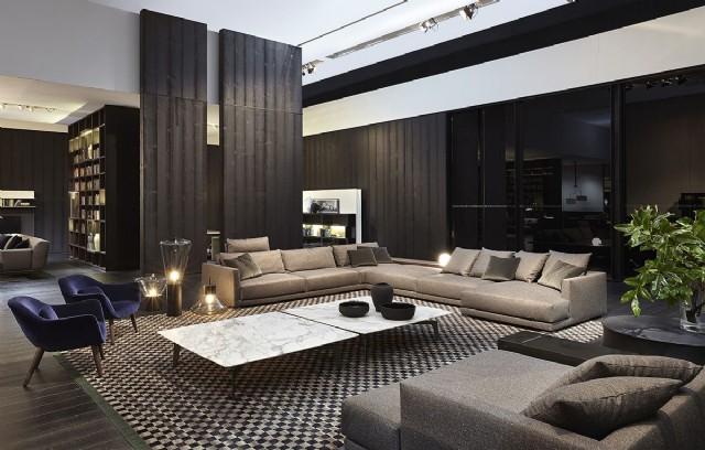 Süper Tasarım Modern Köşe Koltuk Salon Dekorasyonu