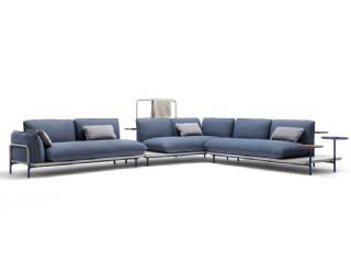 Black Forest Ultra Modern Luxury Köşe Koltuk Takımı