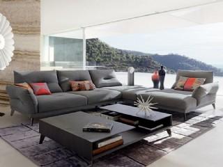 İtalyan Luxury Köşe Koltuk Tasarımı Modern Ev Dekorasyonu