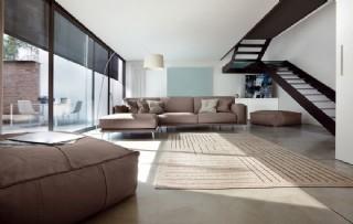 İtalyan Modern Tasarım Salon Tasarımı Köşe Koltuk Takımı